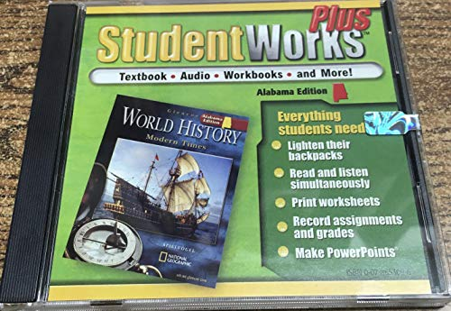 9780078653094: StudentWorks Plus CD-ROM for Glencoe