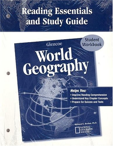 9780078653261: Glencoe World Geography, Reading Essentials and Study Guide, Workbook