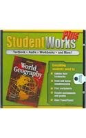 9780078653377: Glencoe World Geography: Student Works Plus