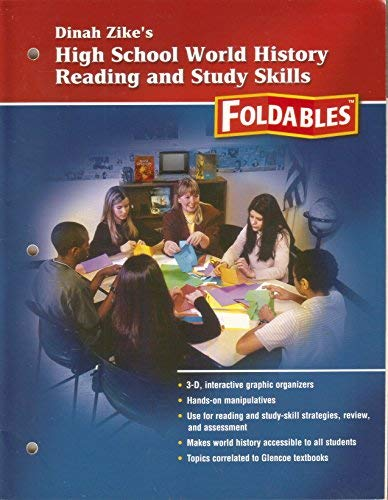 9780078653629: Dianh Zikes High School World History Reading and Study Foldables