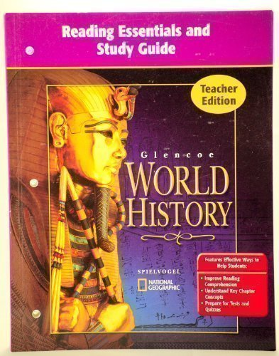 9780078653667: Reading Essentials and Study Guide [Teacher Edition] Glencoe World History