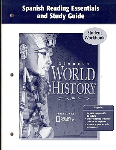 9780078653674: Glencoe World History, Spanish Reading Essentials and Study Guide, Workbook (Spanish Edition)