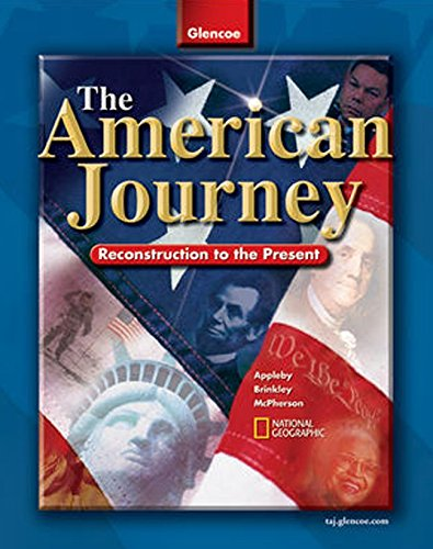 9780078653995: The American Journey: Reconstruction to the Present