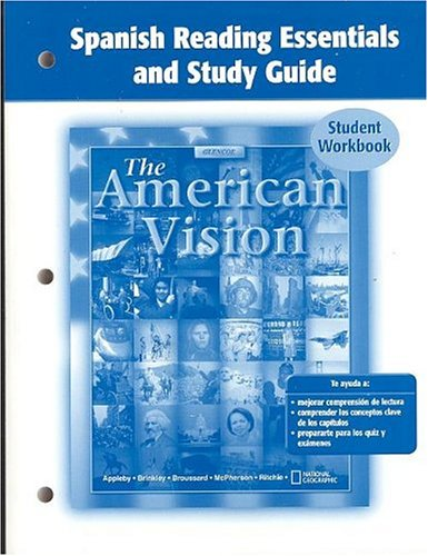 9780078654411: American Vision, Spanish Reading Essentials and Study Guide, Student Edition (Spanish Edition)