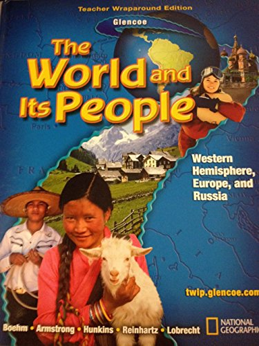 9780078654763: The World and its People Western Hemisphere: Teachers Wraparound Edition