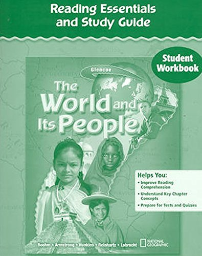 9780078655135: The World and Its People, Reading Essentials and Study Guide, Student Workbook