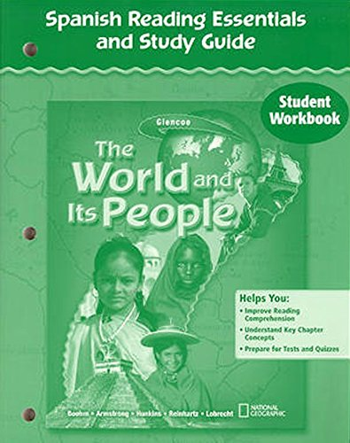 9780078655180: The World and Its People, Spanish Reading Essentials and Study Guide, Student Workbook (GEOGRAPHY: WORLD & ITS PEOPLE) (Spanish Edition)