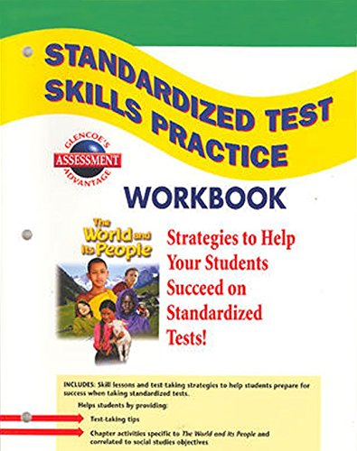9780078655234: The World and Its People: Western Hemisphere, Europe, and Russia, Standardized Test Practice Workbook, Student Edition