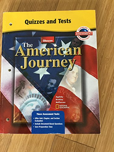 """Quizzes and Tests for Glencoe's """"The American: Glencoe"""