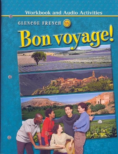 9780078656255: Bon Voyage!: Workbook and Audio Activities: Glencoe French 1A