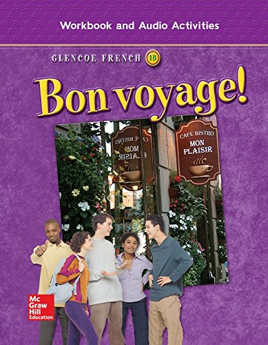 9780078656293: Bon voyage! Level 1B, Workbook and Audio Activities Student Edition (GLENCOE FRENCH)