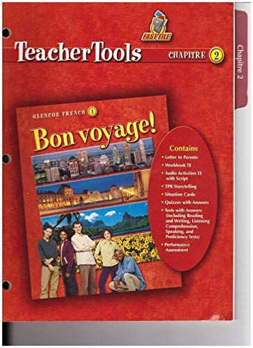 9780078656361: Bon Voyage! 1 Teacher Tools Chapter 2