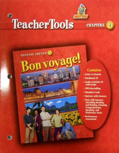 9780078656385: Bon Voyage! 1 Teacher Tools Chapter 4