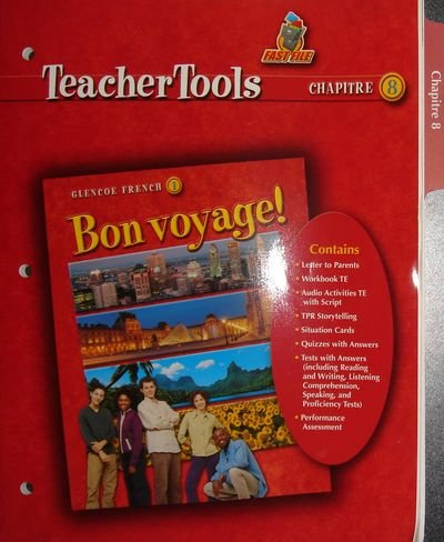 9780078656422: Bon Voyage! 1 Teacher Tools Chapter 8