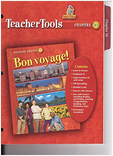 9780078656446: Bon Voyage! 1 Teacher Tools Chapter 10