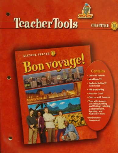 9780078656477: Bon Voyage! 1 Teacher Tools Chapter 13