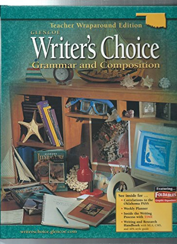 Glencoe Writer's Choice Grammar and Composition Oklahoma Editio: n/a