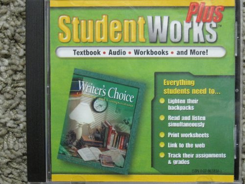 9780078658389: Glencoe Student Works Writer's Choice: Grammar and Composition