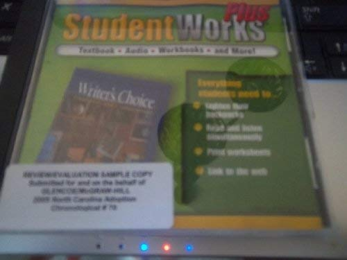 9780078658419: Glencoe Writers Choice: Grammar and Composition Student Works