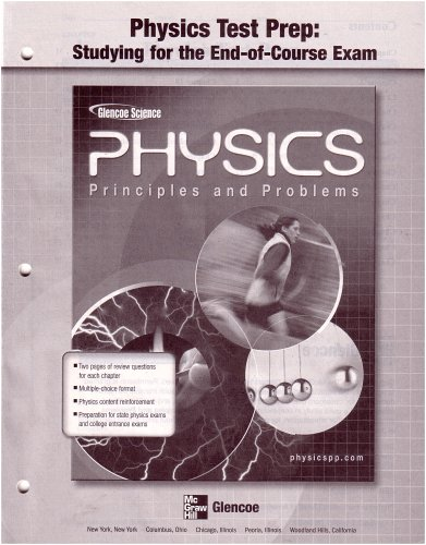 9780078659010: Physics Test Preparation: Studying for the End-of-course Exam