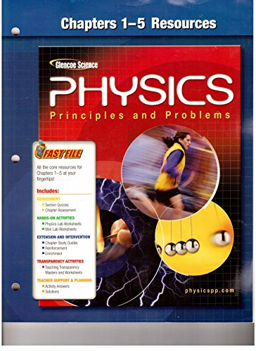 9780078659027: Physics. Principle and Problems (Chapters 1-5 resources) (Paperback)