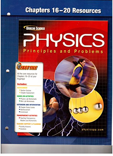 9780078659058: Chapters 16-20 Resources Glencoe Science (Physics Principles and Problems)