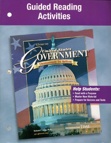 9780078659119: Glencoe United States Government Guided Reading Activities