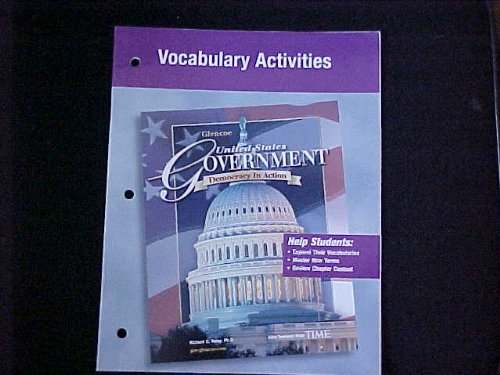 Vocabulary Activities (United States Government, Democracy in Action): Richard C Remey Ph. D.