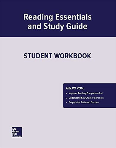 9780078659188: United States Government, Democracy in Action, Reading Essentials and Study Guide, Workbook (GOVERNMENT IN THE U.S.)