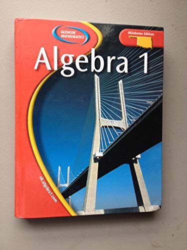 9780078659768: Algebra 1 Oklahoma Edition