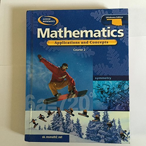 9780078659898: Glencoe Mathematics Applications and Concepts Course 2 Oklahoma