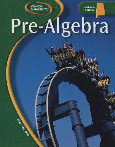 9780078660481: Pre-Algebra: Alabama Edition (Glencoe Mathematics)
