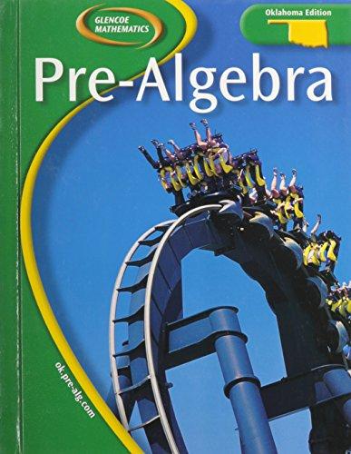 Pre-Algebra: Oklahoma Edition (9780078660498) by Glencoe