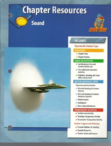 9780078660672: Chapter Resources, Sound
