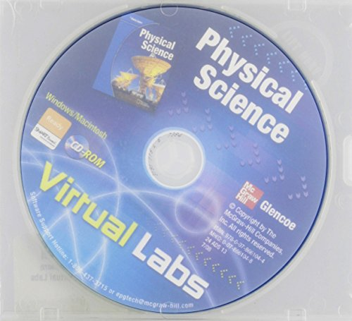 9780078661044: Physical Science: Virtual Labs