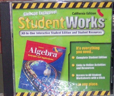 9780078661952: Student Works All in One Interactive Student Edition and Student Resources (California Algebra: Concepts and Applications)
