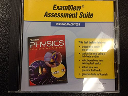 9780078662263: Physics: Principles and Problems, Exam View Assessment Suite