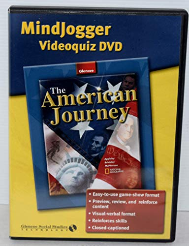 9780078662799: MindJogger Videoquiz DVD (The American Journey)