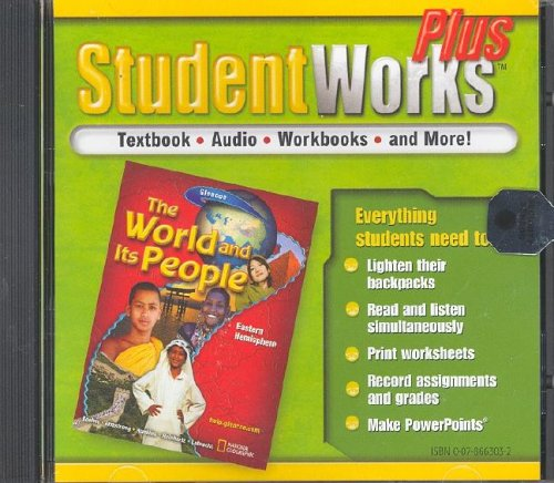 9780078663031: The World and Its People, Eastern Hemisphere, StudentWorks Plus CD-ROM