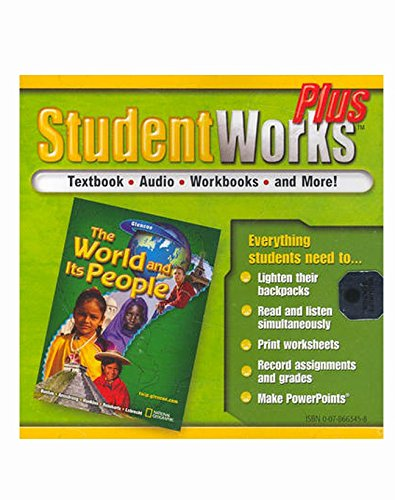 9780078663451: The World and Its People, StudentWorks Plus CD-ROM