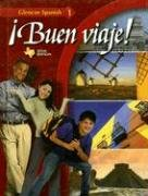 9780078663611: ¡Buen viaje!, Level 1, TEXAS Student Edition (Glencoe Spanish)