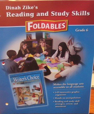 9780078663741: Writer's Choice Grammar and composition Dinah Zike's Reading & Study Skills Foldable,s Grade 6