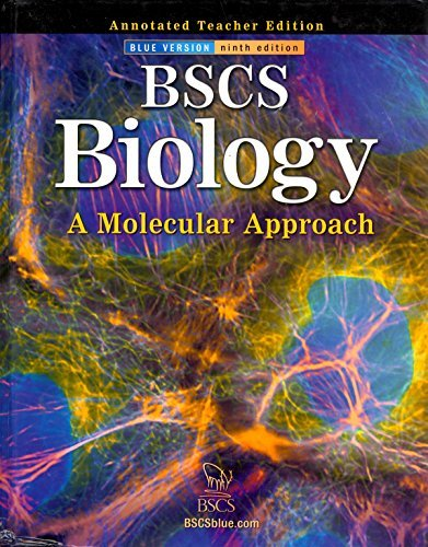 9780078664281: BSCS Biology A Molecular Approach (Annotated Teacher's Edition)