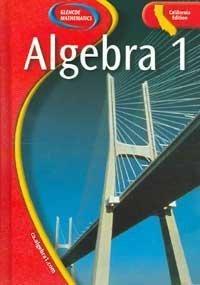 9780078664953: Algebra 1: California Edition