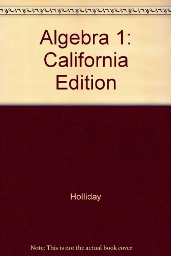 9780078664960: Algebra 1: California Edition