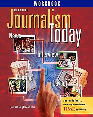 9780078665738: Glencoe Journalism Today (Workbook)