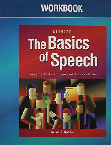 9780078665844: The Basics of Speech