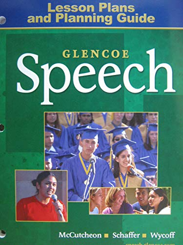 9780078666698: Speech, Lesson Plans and Planning Guide