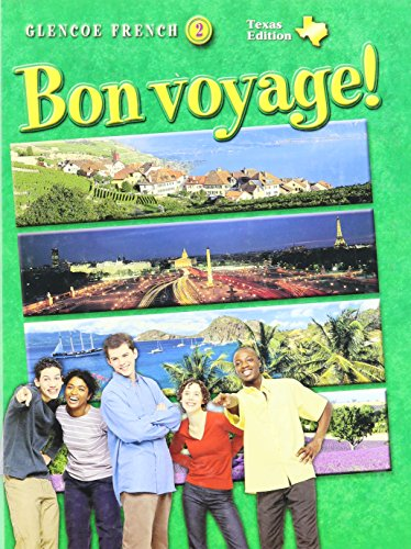 9780078667459: Bon Voyage!: Texas Edition (Glencoe French, Level 2)