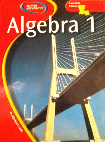 9780078667657: Glencoe Mathematics - Algebra 1 2005 (Louisiana Student Edition)